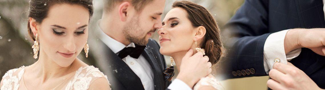 Biżuteria ślubna z kryształami Swarovski - kolekcja Gianna