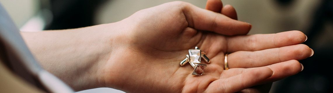 Biżuteria ślubna z kryształami Swarovski - kolekcja Rita