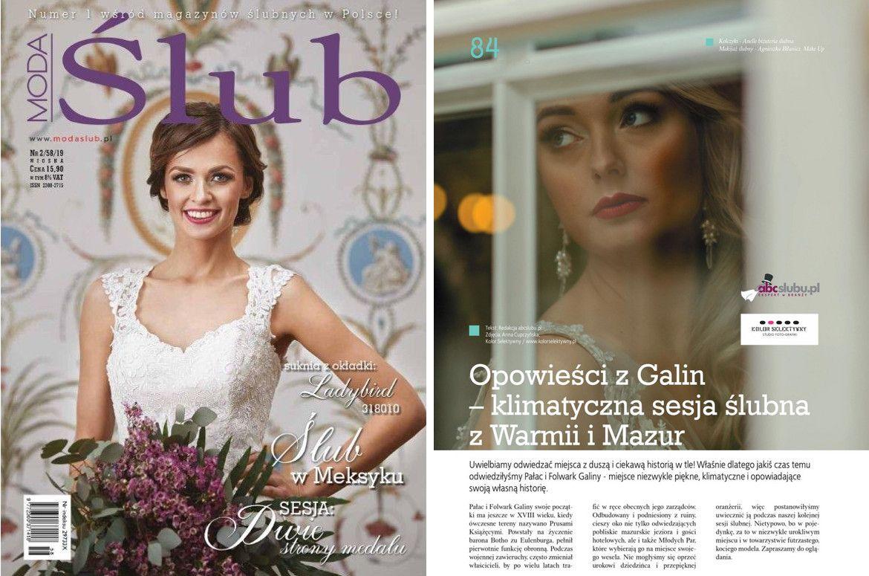 Biżuteria ślubna z piórami w magazynie Moda Ślub