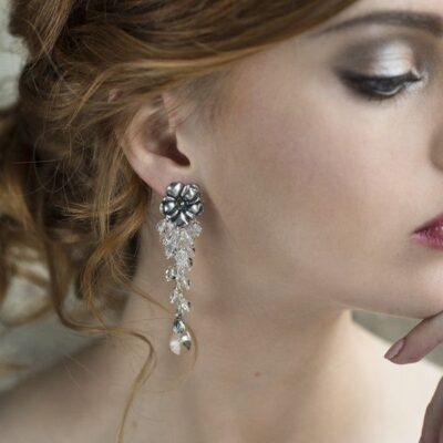 299993d6be51b2 Biżuteria ślubna Anelle - arabeski. Kolczyki ślubne